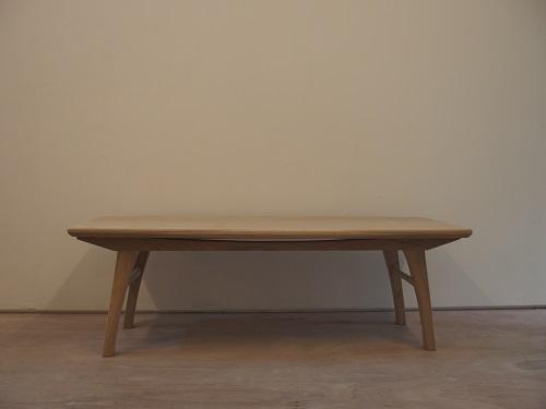 オーク ローテーブル クリアオイル