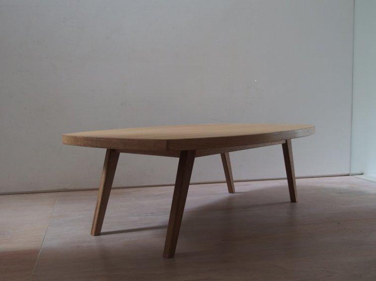 オークコーヒーテーブル