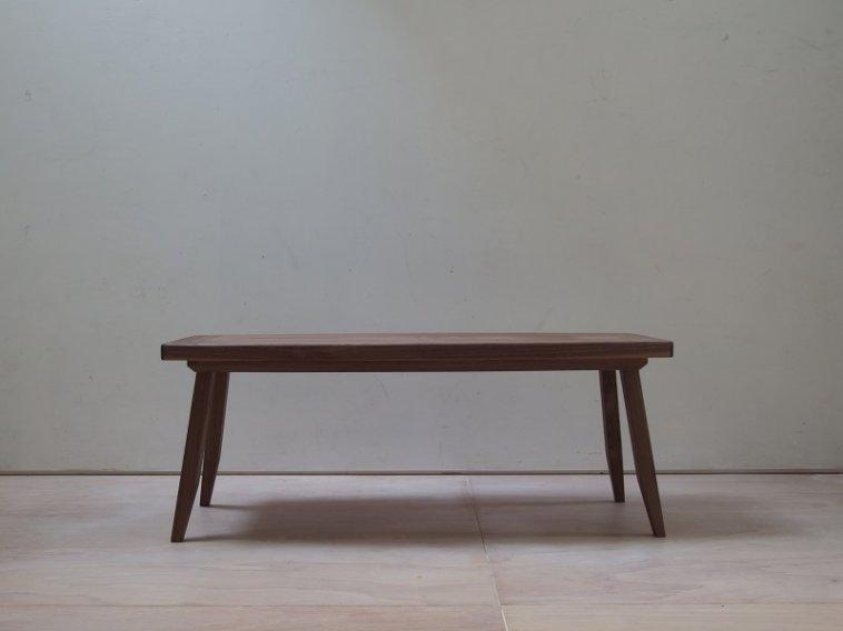 ウォールナット突板 ローテーブル